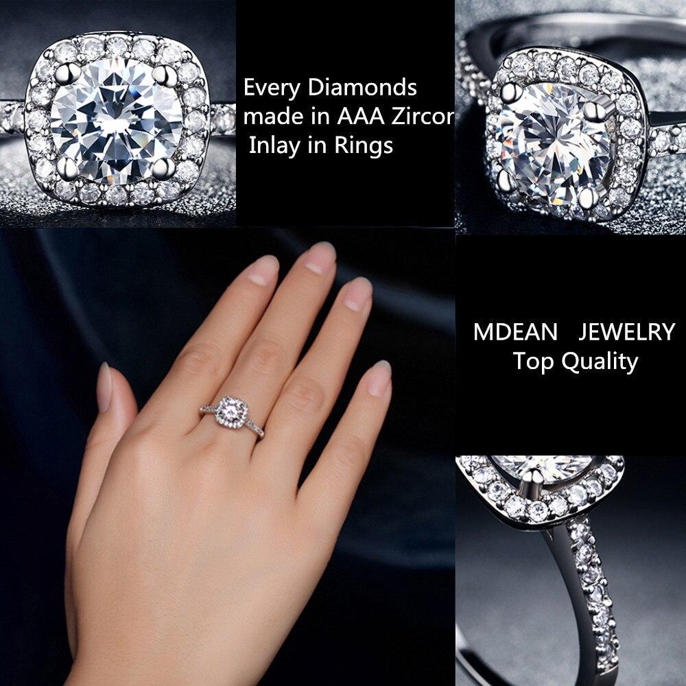 5ef4e5751a74 Cuadrado de la vendimia 925 anillos de plata esterlina para las mujeres de  compromiso de la boda accesorios de lujo AAA CZ Anel bijoux Femme bague  DD035 en ...