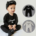 Sailor Cotton Baby Cat Of Eye Clothing Set For Long Sleeve Baby Romper Baby Boys Girls Clothes Jumpsuit Body Kids MK8821