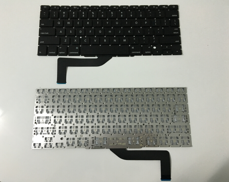 "New US Layout Keyboard For MacBook Pro Retina 15"" A1398  2013 2014 2015 Laptop"