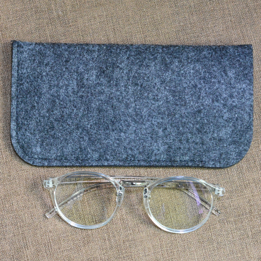 Toketorism Leichte tragbare Wollfilzbeutel Sonnenbrillen Brillenetuis - Bekleidungszubehör - Foto 6