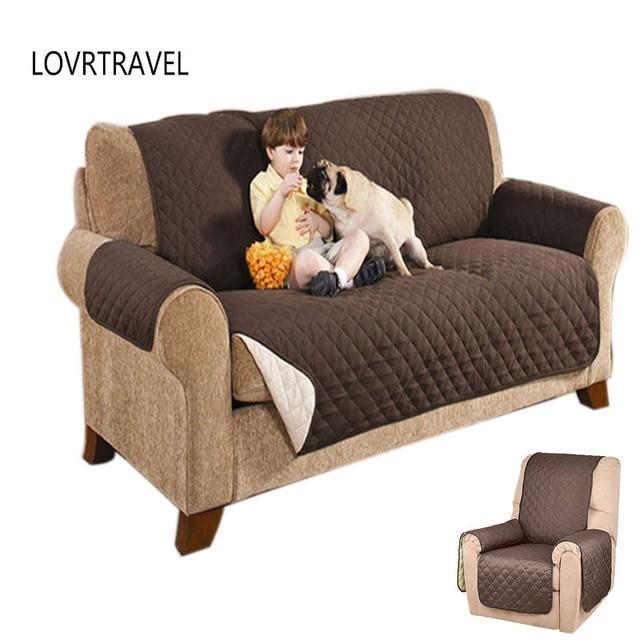 1/2/3 Seat Original SOFA SHIELD Couch Slipcover Furniture Protector ...