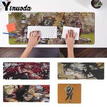 Black Clover Anime Unique Desktop Mousepad Gaming Mouse Pad PC Mice Mats