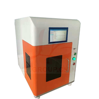 LY FB 02 full sealed cube type fiber laser marking machine 20W operation panel independent working laser engrave machine