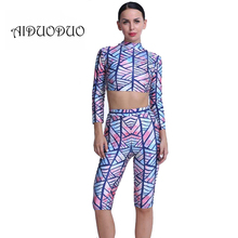 Summer Women Two Piece Outfits Sexy Party Night Club Bodycon Jumpsuit 2 Piece Print Playsuit Slim Short Romper Combinaison Femme