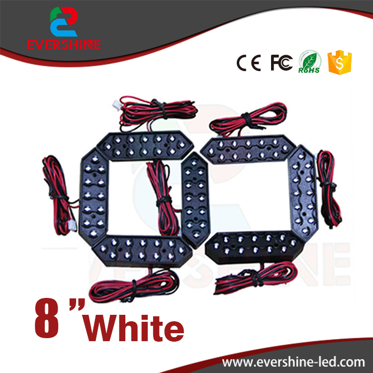 8 White Color 7 Seven Segment LED Number Module Gas Price LED Display Signs Diesel Price Digital Module LED Outdoor 100 pcs ld 3361ag 3 digit 0 36 green 7 segment led display common cathode