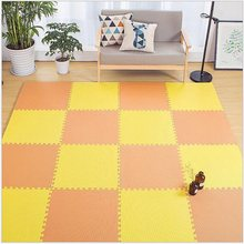 6pcs 30*30*1cm Baby EVA Foam Play Mat kids Rugs Toys carpet for childrens Bedroom School Protective Exercise Floor Tiles(China)