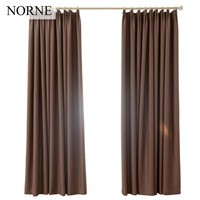 Norne Room Darkening Thermal Insulated Blackout Curtains Noise Blocking Window Treatment Drapes For Living Room Shading