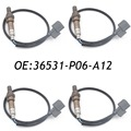 New 4PCS O2 Oxygen Sensor Upstream for Honda CRV CR-V Civic Odyssey Acura Integra CL SG336, 36531-P2E-A01, 36531P06A12 234-4099