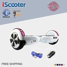 Hoverboard 6.5 Pouce Bluetooth Électrique Scooter Avec Bluetooth LED Lumière Hover Bord Giroskuter Scooter 2 roues Hover bord