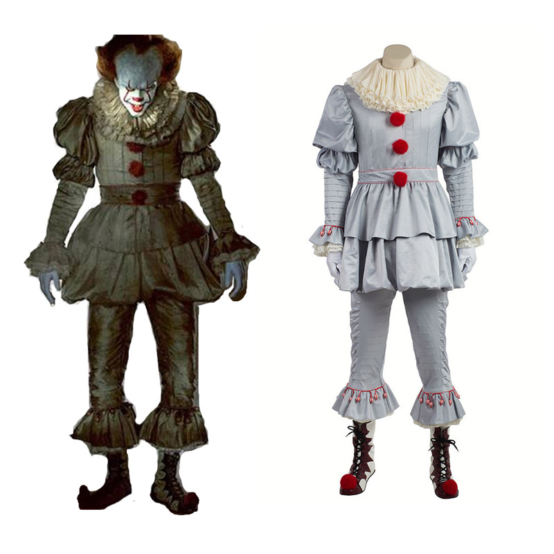 Stephen King It Cosplay Costume Pennywise Costume Clown Costume Halloween Costumes For Men Women Custom Made Outfit Suit