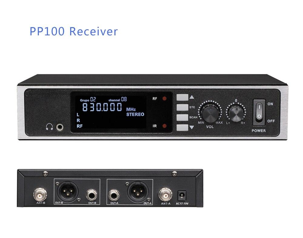 Punkt zu Punkt Wireless Audio Systeme Drahtlose Mikrofon Übertragung für Broadcast Schule Pro Bühne in-ohr monitor system