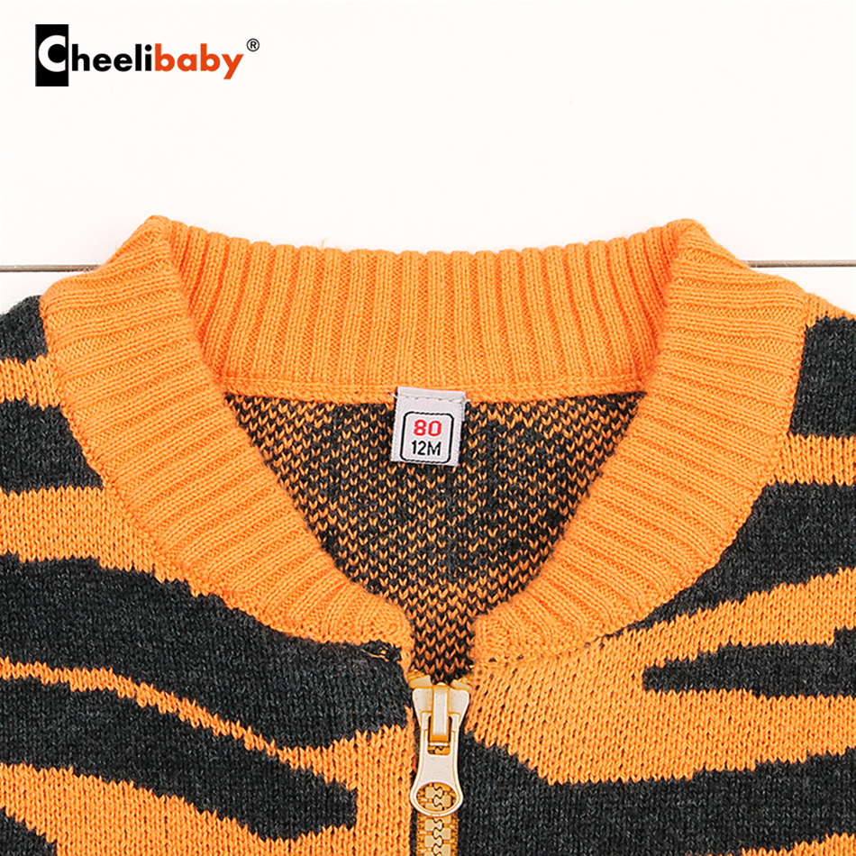 600e8b391f3f Fashion Baby Sweaters Character Button Full Sleeve Boy Girl Cotton ...