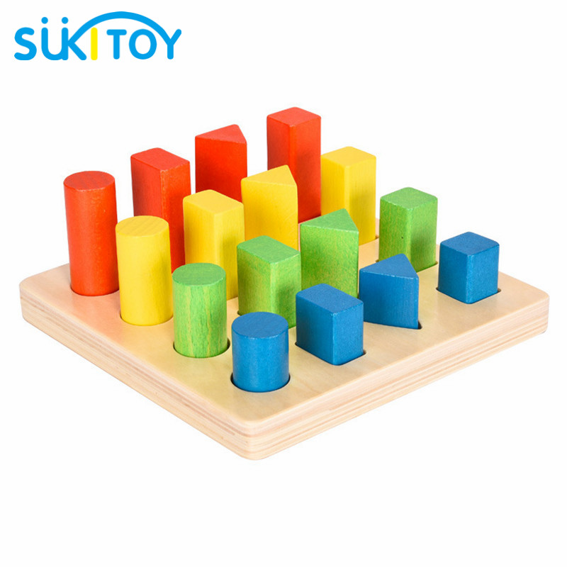 New arrived Wooden Shape board blocks Educational Soft Montessori children intelligent creative interactive toys wooden classic fishing toy game with family kids gift educational soft montessori children intelligent creative interactive toys