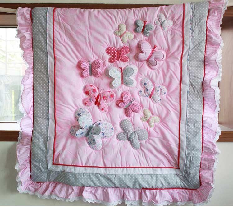 1 шт., Хлопковое одеяло для детской кроватки, 33*42, для мальчиков и девочек, Универсальное Детское одеяло с мультяшным принтом, детское одеяло, одеяла для кроватки, детские вещи для новорожденных - Цвет: comforter only10