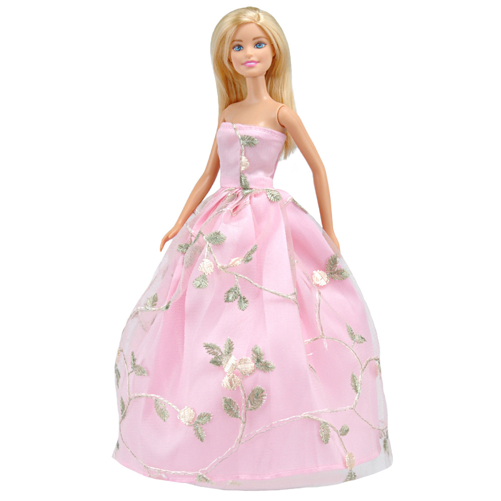 E TING Handmade Dolls Clothing Wedding Party Dresses Accessories For Barbie Dolls