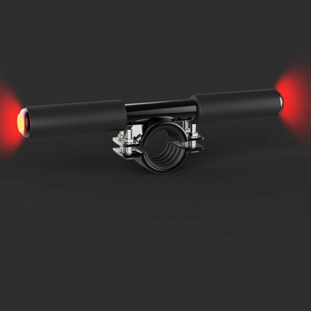 Скутер ручки для Xiaomi Mijia M365 электрический скутер скейтборд Дети Ручка сумки бар ручка держатель с безопасности Предупреждение свет