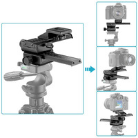 Neewer 4 Way Macro Focusing Focus Rail Slider Close Up Shooting For Canon Nikon Etc SLR