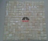 3D moda biały powłoki mozaiki masa perłowa mozaiki płytki ścienne w domu poprawy factory direct sprzedaż darmo shiping