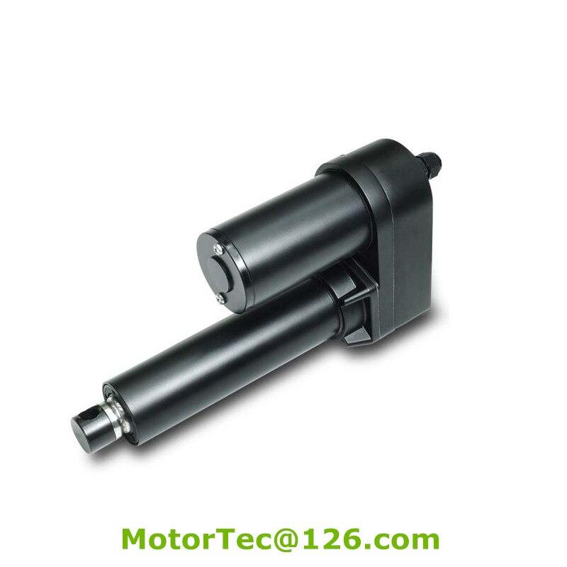 LV-30 1000 кг силы 160 мм/сек. скорость 300 мм ход 12 В 24 В DC электроэнергетика линейный привод, быстрая скорость линейный привод