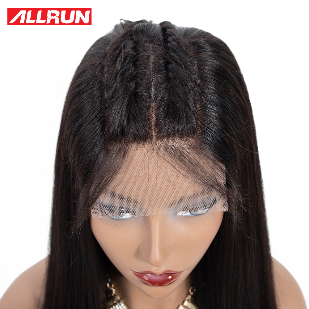 Human Hair Lace Wigs Allrun Ocean Wave Side Part Lace Front Human Hair Wigs Bob Wig Women Natural Ear To Ear Brazilian Remy Human Hair Lace Front Wig