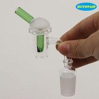 10mm 14mm 19mm Quartz banger ongles avec couleur carb cap pour verre narguilé conduite d'eau