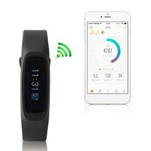 Z2 личные мониторинг здоровья умный Браслет Bluetooth 4.0 0.91 дюймов Дисплей Водонепроницаемый сожженных калорий трекер Smart Браслет