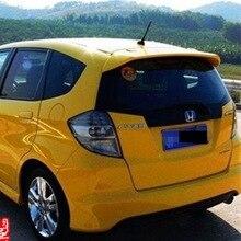 Spoiler Car Rear Wing Primer Color for Fit/Jazz 2008-2013