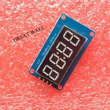 1pcs 4 Bits TM1637 Red Digital Tube LED Module & Clock for Arduino LED