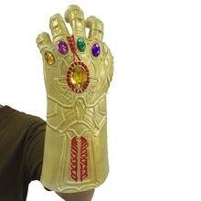 LePy Thanos Infinity Γάντι Cosplay Γάντια Prop Απόκριες Σκληρό Latex Εκδηλώσεις: Μάσκα Πολέμου Άπειρη