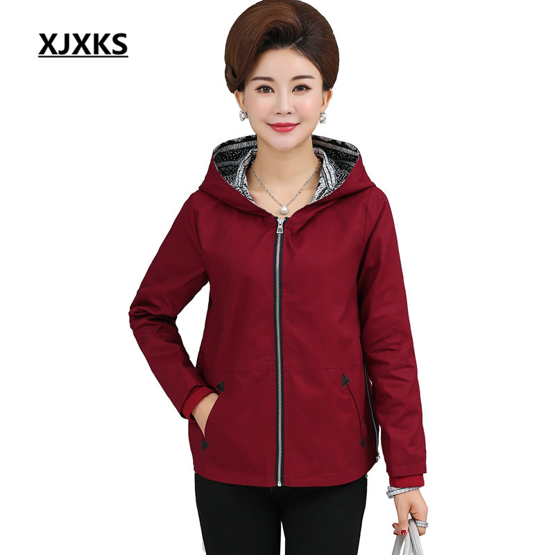 Hem Blue Pockets Side Autumn Red Women yellow Colors Coat Four Comfortable apricot navy Casual Jackets Wine Zipper Regular Jacket 289 Fabrics Xjxks EtR7c