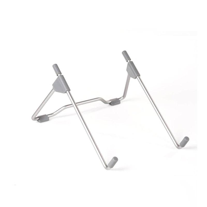 Foldable Adjustable Laptop Stand Office Desk Notebook Tablet Bracket Heat Reduction Holder Mount Aluminum Alloy Cooling Support
