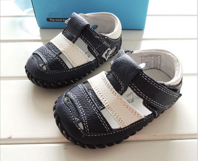 Brand Fashion Summer Baby Boy Leather Shoes Kids New 2016 Toddler Shoes,baby Boys Top Quality Shoes Newborn Baby First Walkers