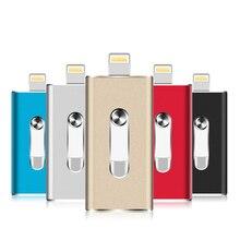 Usb Flash Drive i-Flash Mini Otg 8gb 16gb 32gb 64gb 128gb Pen drive For iPhone X/8/7/7Plus/5/5s/6/6s Plus/ipad Pendrive цена и фото