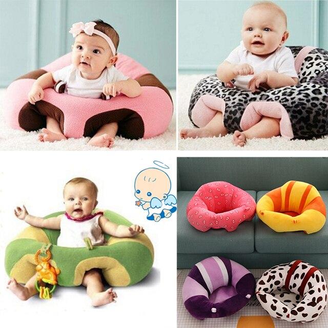 Cadeira do Sofá De Pelúcia macia de Bebê Infantil Aprender A Sentar Ficar Sentado Postura Suporte Do Assento Do Bebê Sofá Do Bebê da Qualidade de Natal Recém-nascidos presente