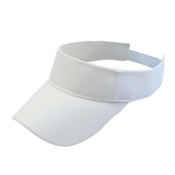 fdd1d9884c8 EFINNY Plain Visor Sun Hat Sport Cap Adjustable Tennis Cotton Beach Hats  for Women Men 7