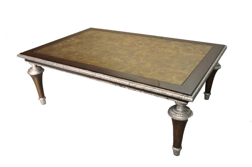 Klassieke luxe meubelen eiken meubelen upscale hotel clubs - Table basse haut de gamme ...