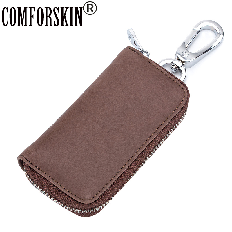 COMFORSKIN New Arrivals Key Case Brand Unisex Multinational Keeper Hot Vintage Style Designer Wallet 2018 Holders