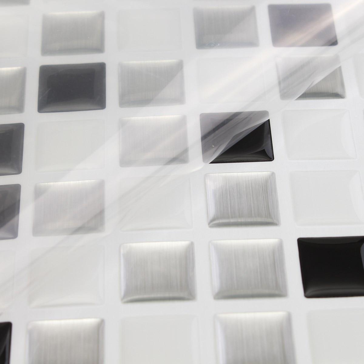 Home Decor Brick Mosaic Kitchen Bathroom Foil Beauty 3D Wallpaper ...