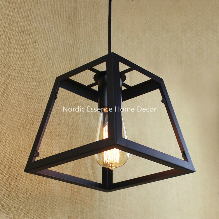 American village pastoral simplicity Creative Bar Restaurant hotel cafe living room hallway stairs decorative pedant light lamp