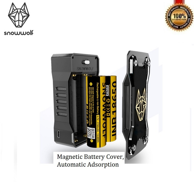 sigelei snowwolf mfeng kit 200w box mod with wolf sub ohm 6ml vape