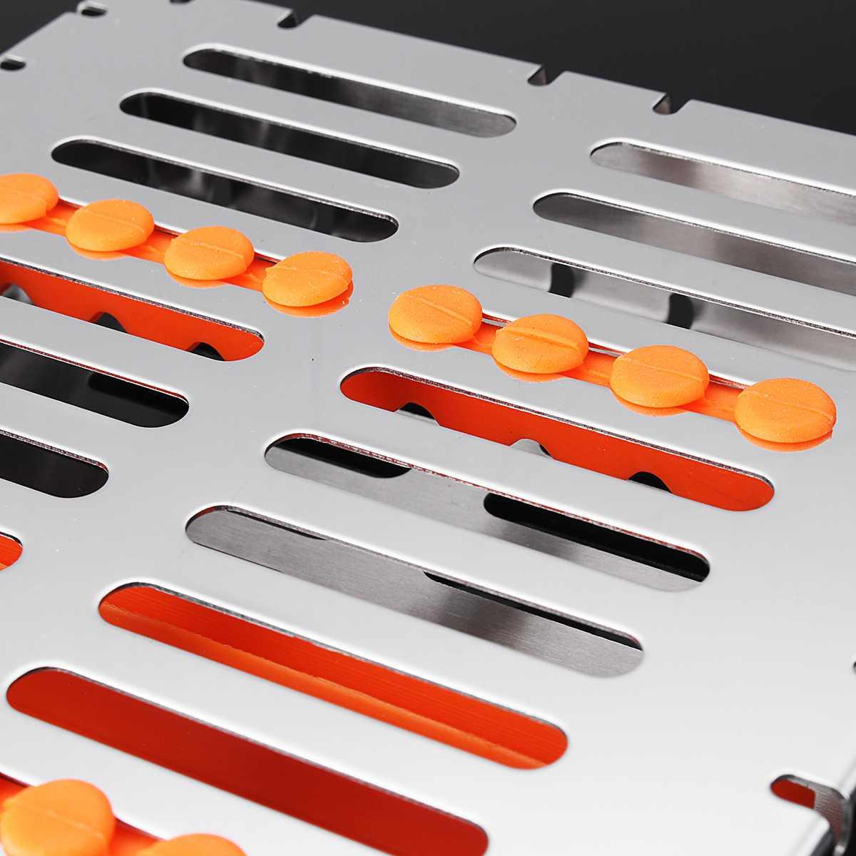 Esterilização dental autoclave gaveta bandeja caixa rack