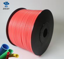 Free shipping red color PVC tube sleeve for printer, wire marking machine ,cable ID electronic lettering
