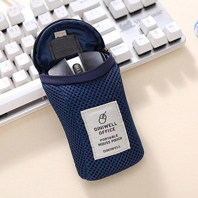 1 pz Antiurto Sacchetto di Immagazzinaggio del Mouse Cavo USB Digital Devices Ga