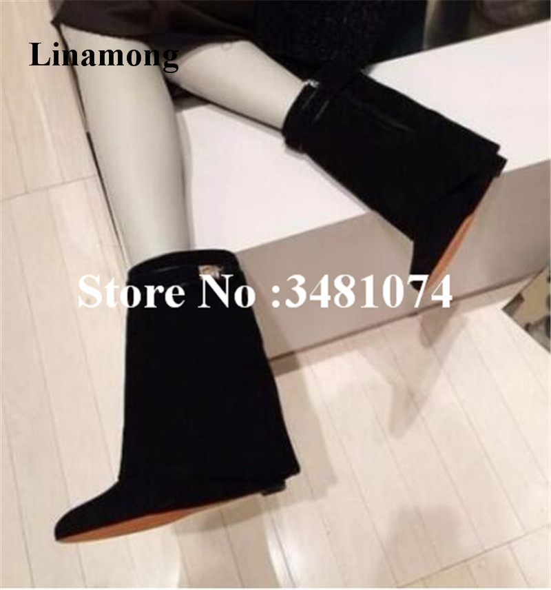 Ladies Dance Dress Mid-Calf Boots Spring Autumn Low Heels Patchwork Boots Dance Slip-On Mid -Calf Pointed Patchwork Ladies Boots lebel cosmetics proedit care works 3 curl fit сыворотка для волос 4 20 мл