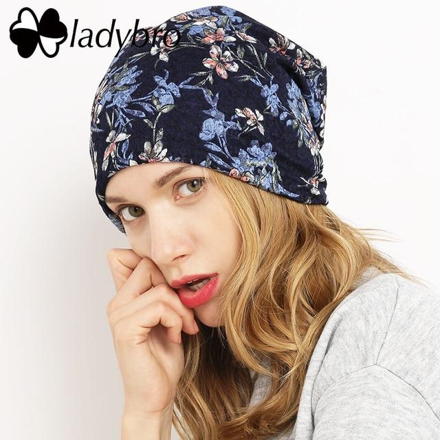 Ladybro бренд Для женщин Кружево Skullies Шапка-бини женский Демисезонный шляпа Кепки хлопок Повседневное цветок капот роковой дамы Бабочка Hat