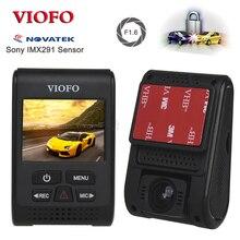 Original VIOFO A119S V2 Capacitor Novatek HD 1080p 7G F1.6 Car Dashcam video Camera DVR optional GPS CPL (Updated V2 Version)