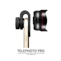 60 mm Phone Camera Lens Kit Professional telephoto Lens Mobile Phones Front Back Fisheye Kits For Smartphone Microscope