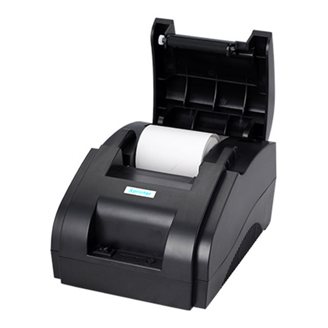 Xprinter POS 58 USB & USB + Bluetooth for Android and IOS 58mm Thermal Small Ticket Printer Bill Machine 2