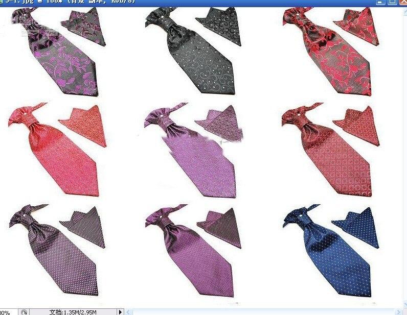 NEW men's formal ties hanky Necktie tie sets Neck TIE cravat Handkerchief diamond fgrtyrytvbfgh