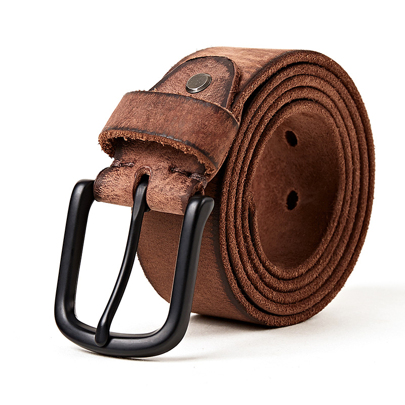 Mens Belt//Leather Retro Youth Belt//Handmade Casual Belt